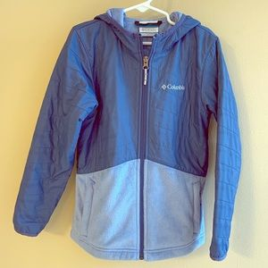 Columbia Girl's Hooded Jacket Size Small